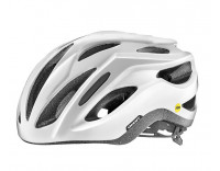 Giant Rev Comp MIPS Helmet (2018) Gloss Metallic White