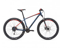 Giant Talon 29er 2 Bike (2019) Gray Blue Side View