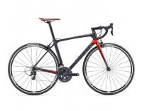 Giant TCR Advanced 2 Bike (2017)-Composite/Neon Red-Profile