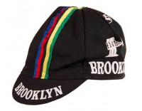 Giordana Brooklyn Cycling Cap with World Stripes Black