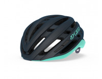 Giro Agilis MIPS Women's Helmet (2020) Matte Midnight Cool Breeze Front Left