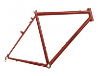 Gunnar Cycles CrossHairs Frame Garnet Metallic with Black Bullseye Decals Right