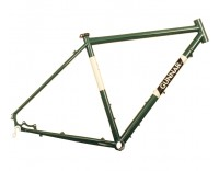 Gunnar Cycles Grand Disc Frame British Racing Green w/ Panda Panels