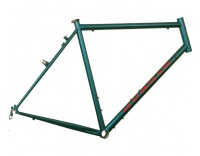 Gunnar Cycles Grand Tour Frame Teal w/ Red Decals Right