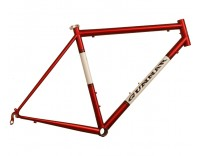 Gunnar Roadie Frame Red with White Panels Right