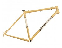 Gunnar Cycles Rock Hound Frame 29er Bamboo with Vanilla Shake Panels