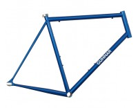 Gunnar Cycles Street Dog Frame Gunnar Blue with Bullseye Decals Right