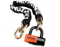 Kryptonite New York Chain 1210 with Evolution Disc Lock