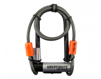 Kryptonite KryptoLok Series 2 Mini-7 U-Lock with Kryptoflex 4' Cable
