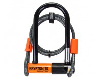Kryptonite Evolution Mini-7 U-Lock with Kryptoflex 4 ft Cable