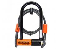 Kryptonite Evolution Mini-7 U-Lock with Kryptoflex 4 ft Cable