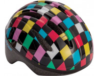 Lazer BOB Infant Helmet Black with Multi Colored Squares