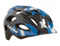 Lazer Nutz Kids' Helmet Matte Blue Camo Front Angle