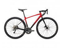 Liv Avail AR 2 Disc Bike (2020)-Metallic Red Side View