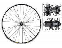 WM Rear Wheel: 700c Mavic Open Pro MSW 32h Black Rim/Shimano Ultegra 6800 Silver Hub