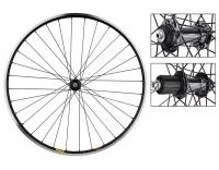 WM Front Wheel: 700c Mavic Open Pro MSW 32h Black Rim/Shimano Ultegra 6800 Silver Hub