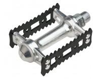 MKS Sylvan Stream Pedals, Black/Silver