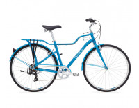 Momentum Street Bike Blue/White Large Mid-Step