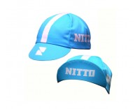 """Nitto"" Cycling Cap by Pace Sportswear (Cyan)"