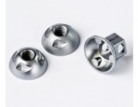 Pinhead Solid Axle Wheel Lock Set (Two Locking Nuts)