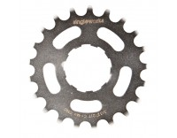 "Singleworks 3/32"" Single Speed Cog Silver"