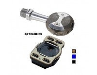 Speedplay X/2 Stainless Steel Clipless Pedals