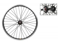 WM Front Wheel: 20x1.75 Sun Rhyno Lite Rim/MX Hub/Black
