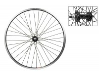WM Front Wheel: 24x1.5 Weinmann 519 36h Rim/Bolt On Hub/Black
