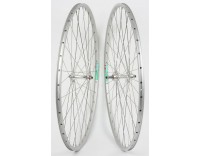 "WM Front Wheel: 27"" Weinmann LP18 36h Rim/Sealed Bearing QR Hub/Silver"