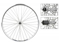 WM Front Wheel: 700x35 Weinmann ZAC19 36h Rim/QR Hub/Silver