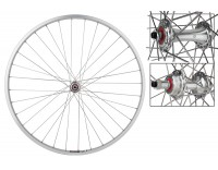 WM Rear Wheel: 27x1 Sun CR18 36h Rim/Origin8 RD2100 Freewheel Hub/Silver