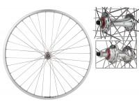 WM Rear Wheel: 27x1 Sun CR18 36h Rim/Origin8 RD2100 Freewheel Hub/Silver