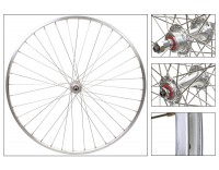 WM Rear Wheel: 700c Sun M13 Rim/Origin8 RD2100 5-7 Speed Freewheel Hub/Silver