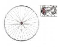 WM Front Wheel: 700c Sun M13 36h Rim/Origin8 RD2100 QR Hub/Silver