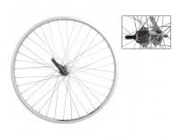 WM Rear Wheel: 26x1-3/8 Weinmann ZAC20 Rim/Coaster Brake Hub
