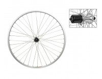 WM Rear Wheel: 26x1.5 Alloy Rim/8/9 Speed QR Hub