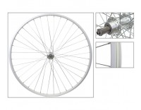 WM Rear Wheel: 27x1-1/4 Alloy Rim/5-7 Speed Freewheel QR Hub