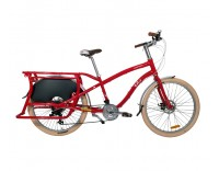 Yuba Boda Boda V3 Cargo Bike - Red Side View