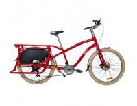 Yuba Boda Boda V3 Cargo Bike - Red Side View