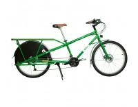 Yuba Mundo v4.3 Disc LUX Cargo Bike Green Right